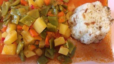 Photo of Grüne Bohnen mit Gemüse