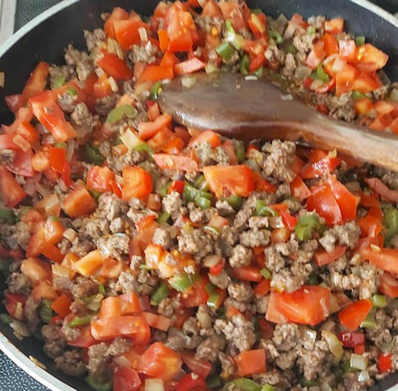 Türkische Fleischpfanne - Sac Kavurma